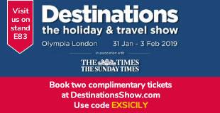 Destinations show London