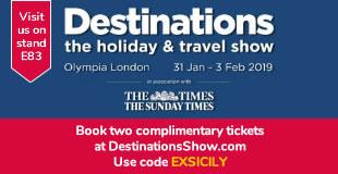 Destinations show London