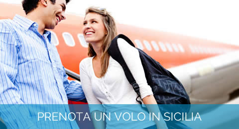 Book your flight in Sicily