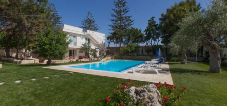 Villa Donnalucata swimming pool