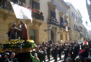 Misteri procession in Trapani