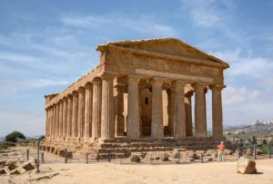 the Valley of the Temples of Agrigento in Sicily
