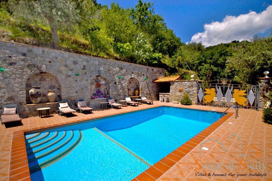 Villa the Angels near Taormina