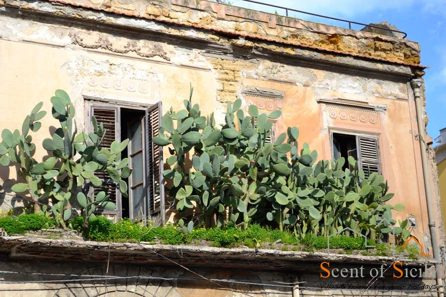 Lovely balcony in Sicily