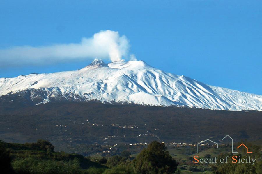 UNESCO heritage volcano Etna