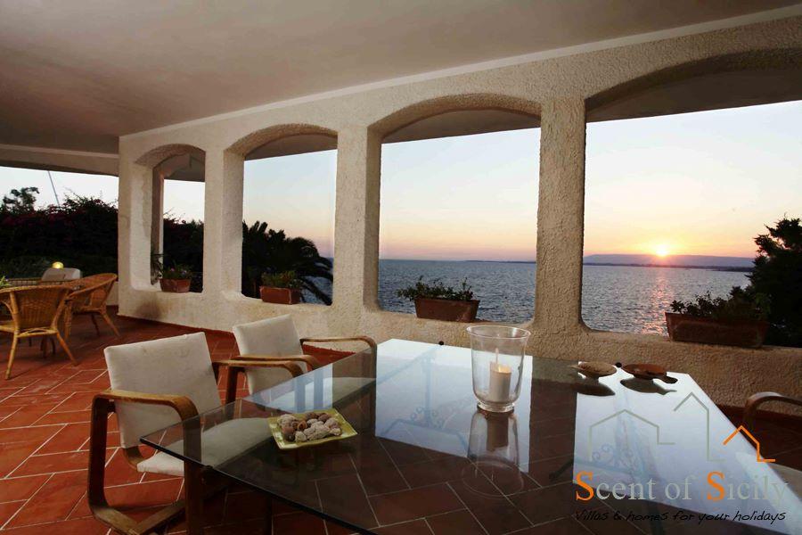 Villa Blue and Green Sicily