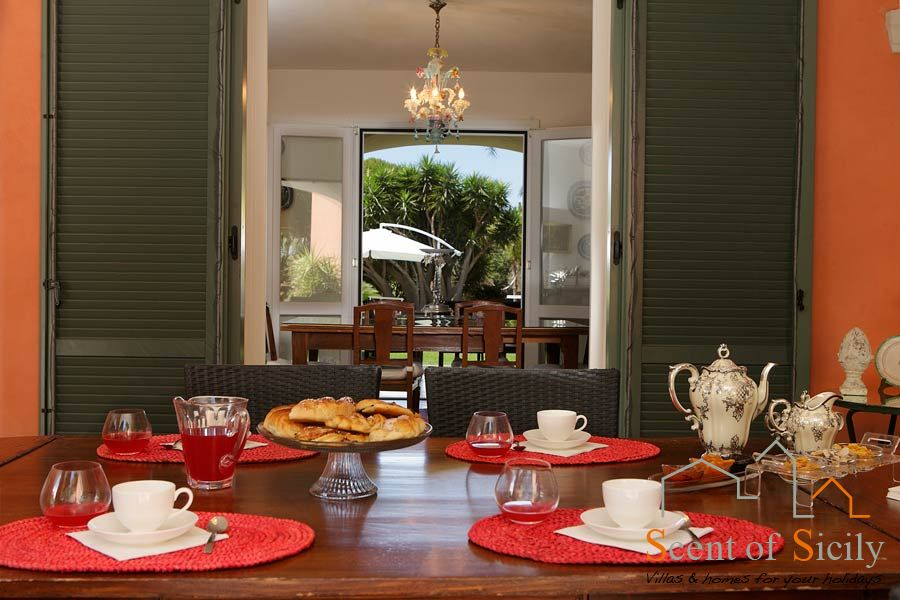 Villa Lilybeum the breakfast