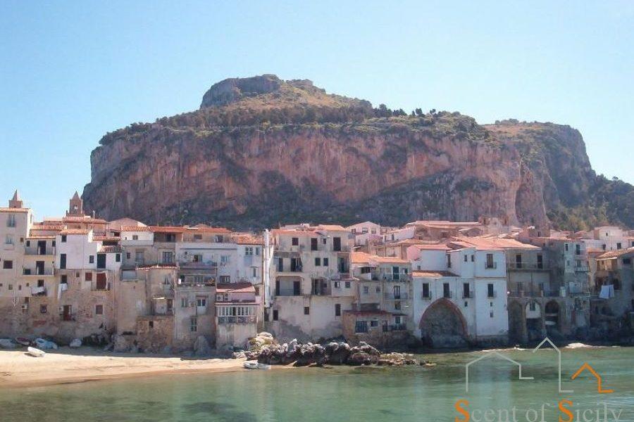 Cefalu beach Sicily
