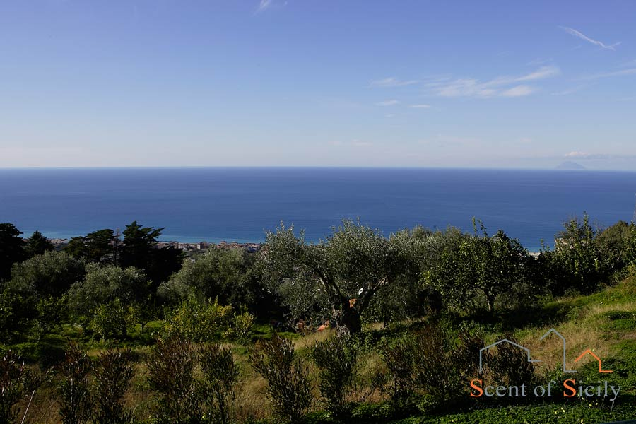 Villa Sunrise Sicily sea view