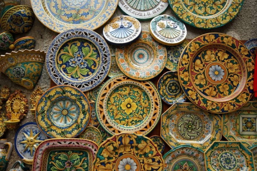 Tipical Sicily Pottery