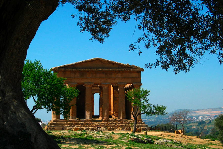 Agrigento Sicily Valley of Temples