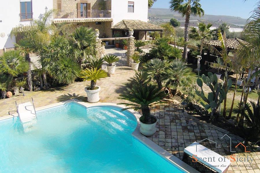 Villa Olympo Agrigento Sicily