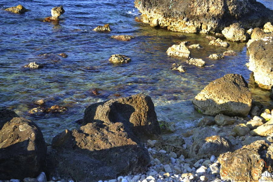 Sea in Bonagia Sicily