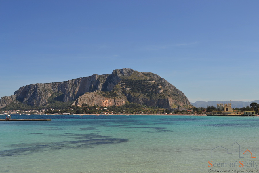 Mondello beack Sicily