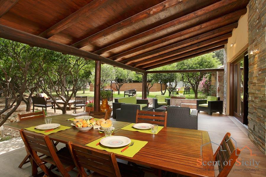 Have your sunny al fresco breakfast on the terrace