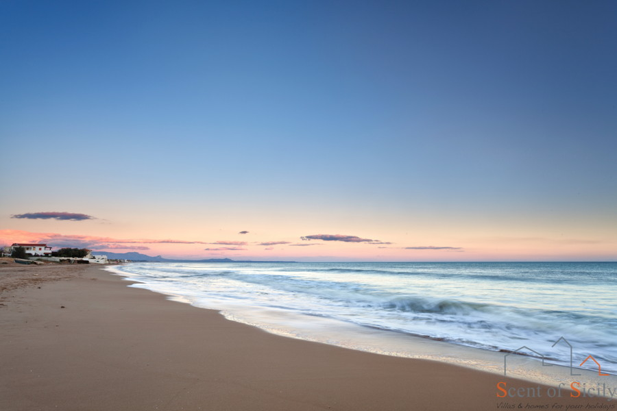 Sicily, Marsala sandy beach
