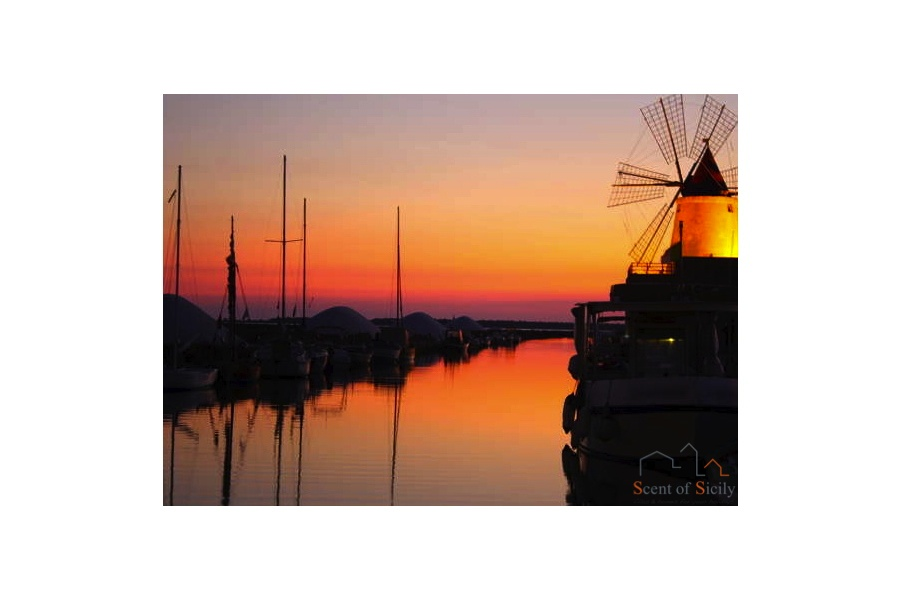 Marsala Sunset Sicily