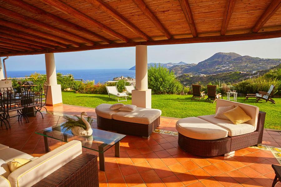Villa Blue Sicily Lipari Sicily