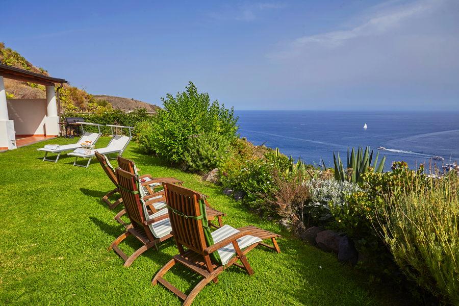 Sicily blue sea