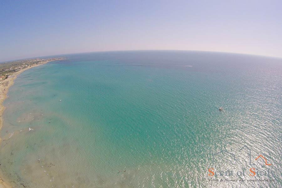 Marsala sea Sicily