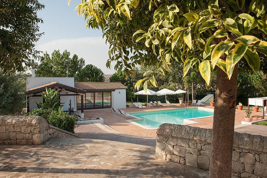 Villa Occhipinti Modica Sicily