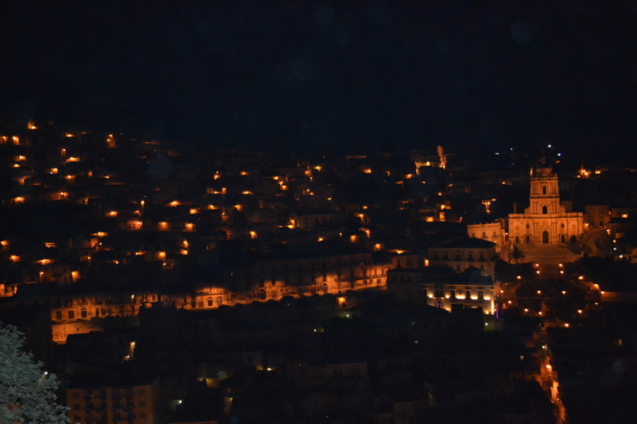 Modica by night