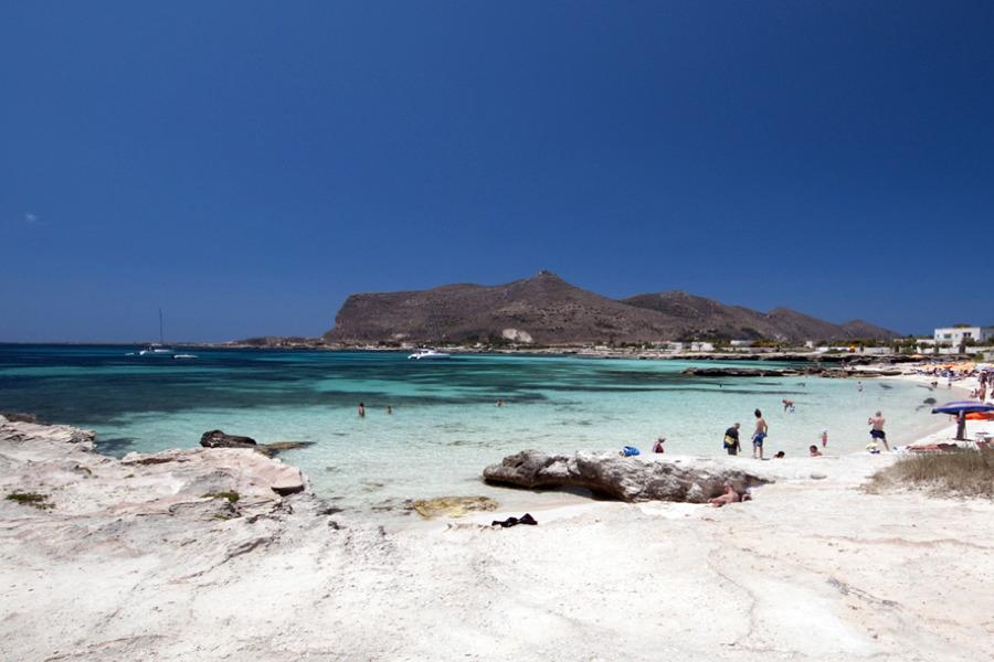 Favignana beach Sicily