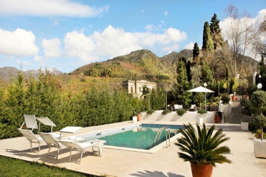 Taormina area Sicily Villa Etna Valley