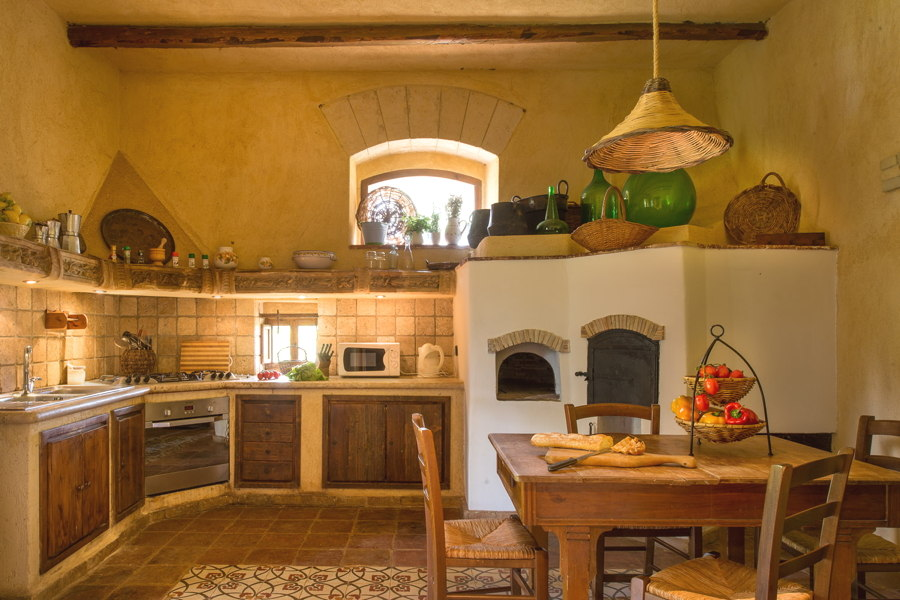 The kitchen in Villa Tower, Castelvetrano