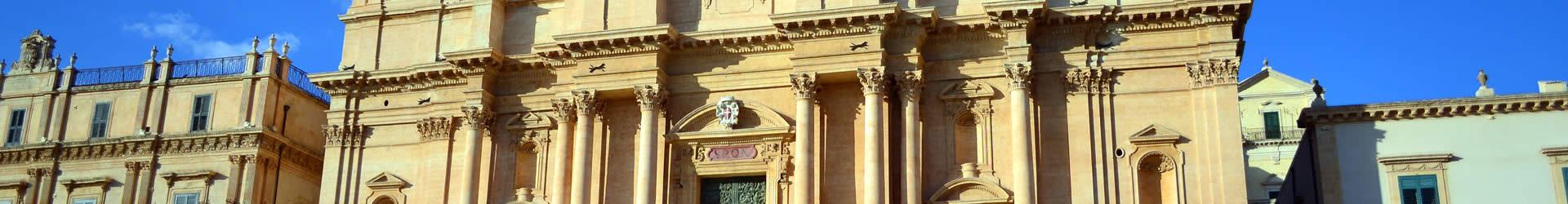 Villas near Sicily Baroque Towns