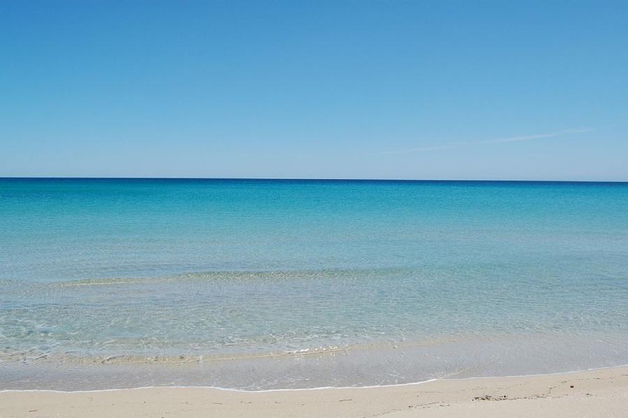Sicily, blue sea