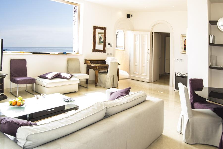 Sicily, taormina, Villa White