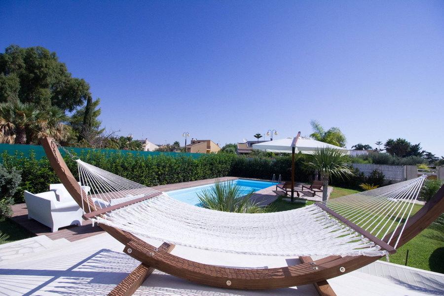 Sicily, Villa Levante relax area