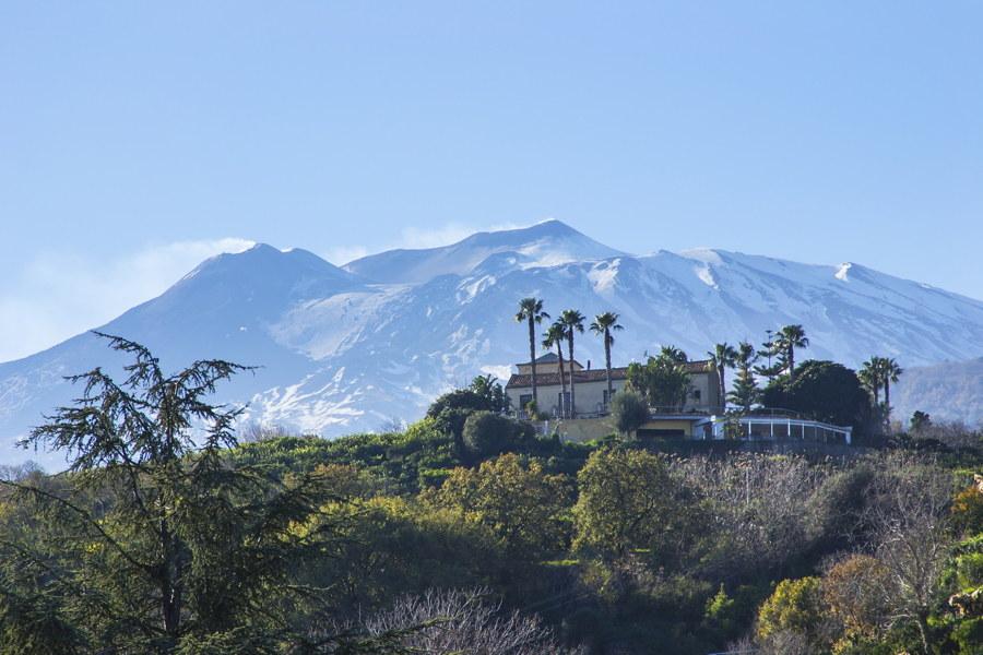 Vila Naxos Etna valley Sicily