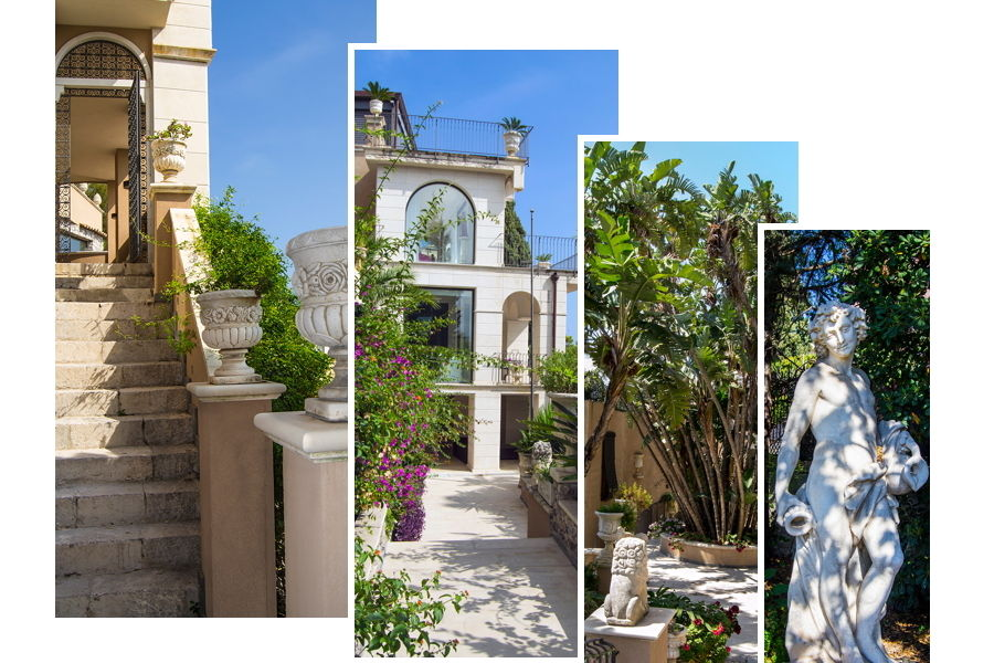 Sicily Taormina private villa