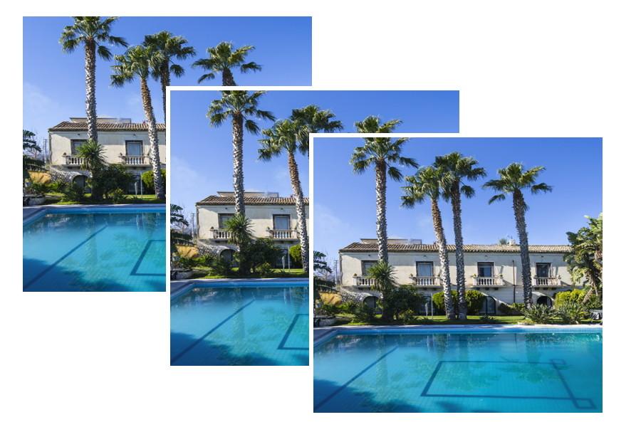 Villa Naxos swimming pool