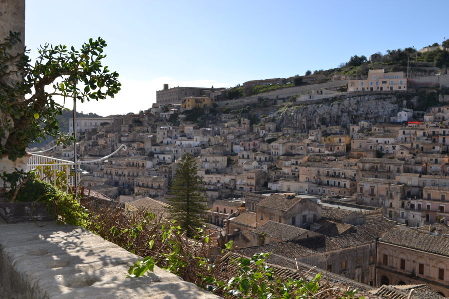 Midoca, Sicily, view of the old city