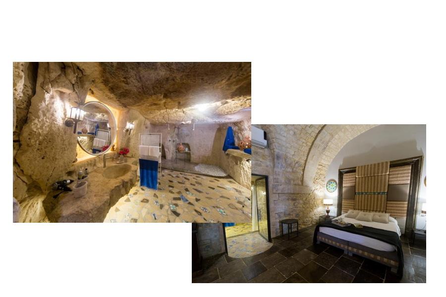 Modica, Sicily Apartment the Cave bedroom es suite