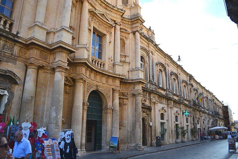 Noto, Sicily, main street