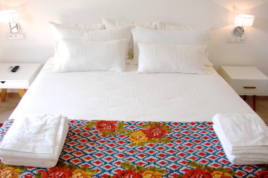 Orange Suite, Ispica, Sicily, the bedroom