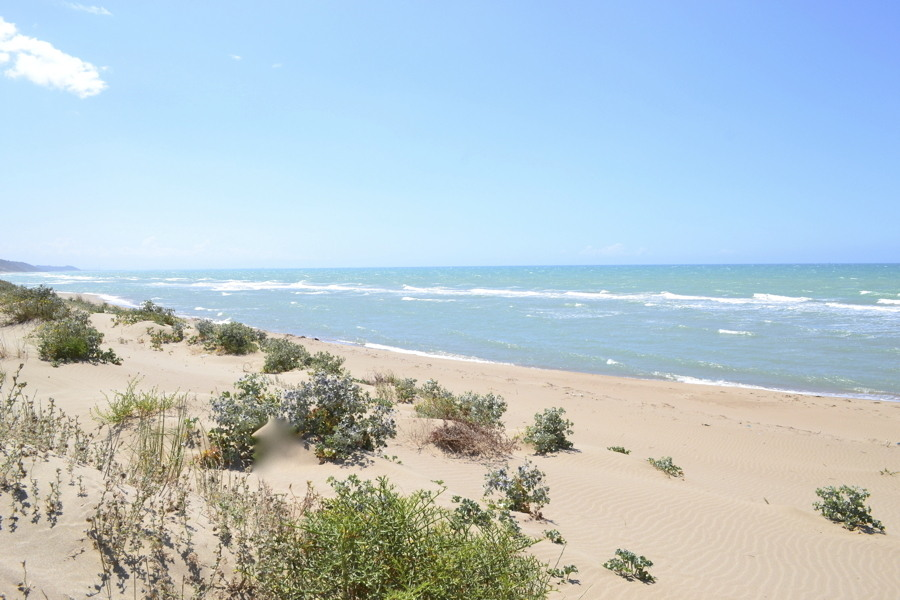 Agrigento area, Sicily, the sea