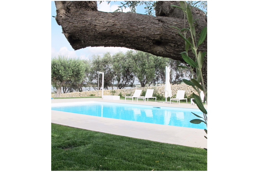 Blue Suite, Ispica, Sicily, common pool