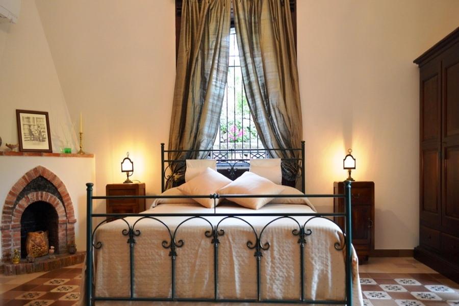 Villa Taormina's Nest, Taormina, Sicily one bedroom of the charming villa