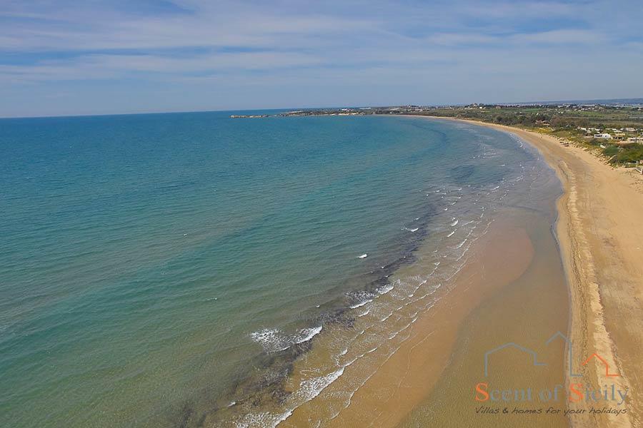 Sicily, sandy beach