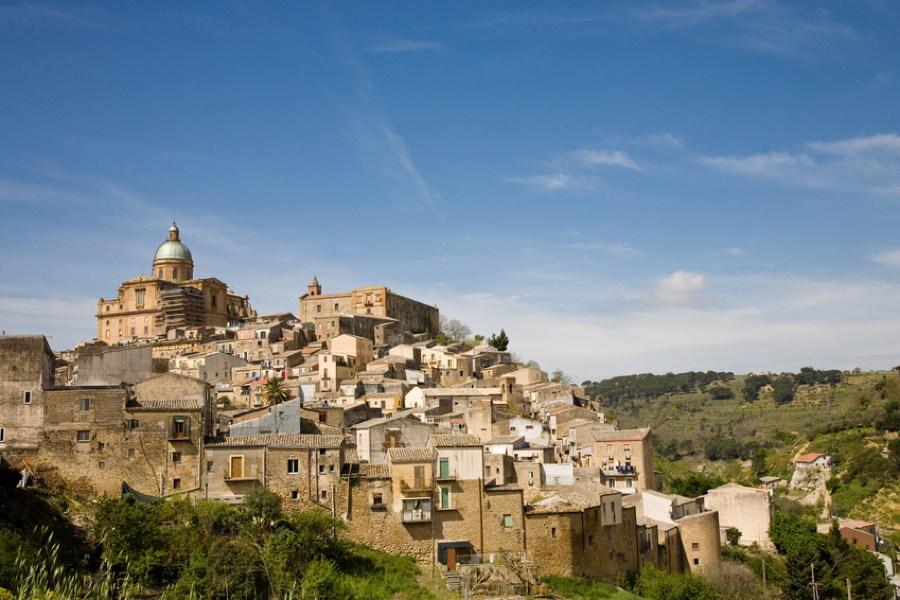 Aidone, Sicily
