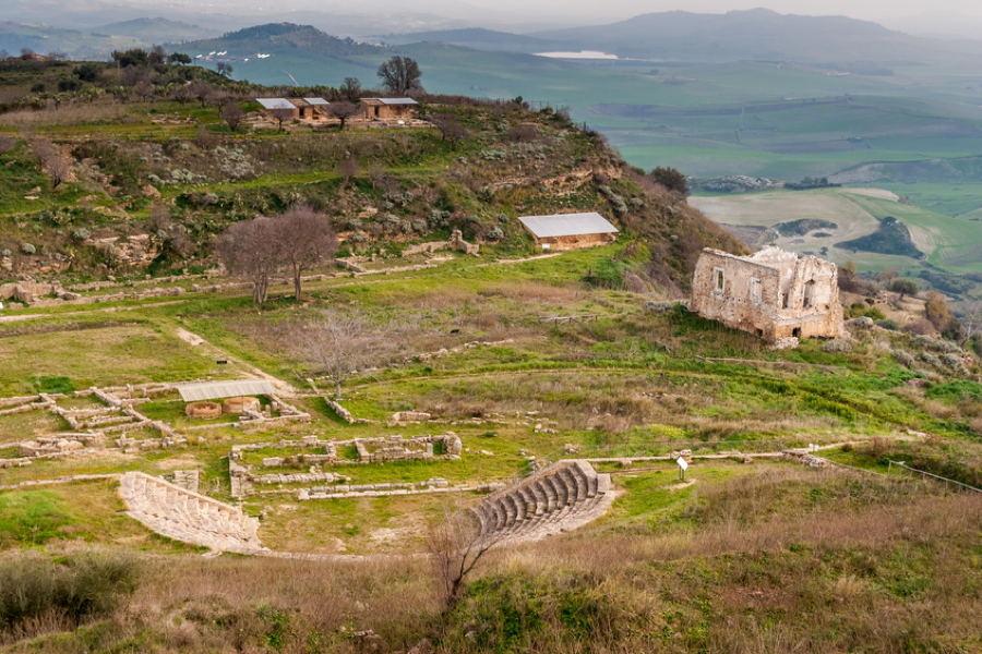 Morgantina, Sicily