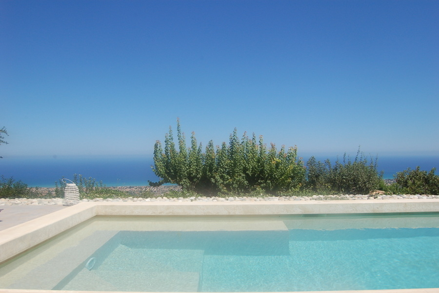 Villa Sea View, Cefalù area, Sicily view from the pool