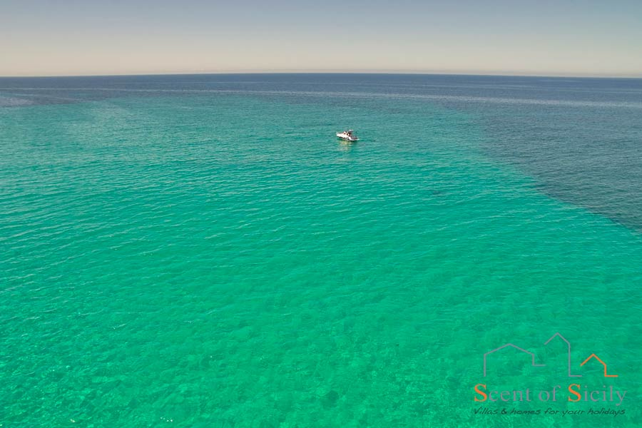 Sicily, Noto area the sea