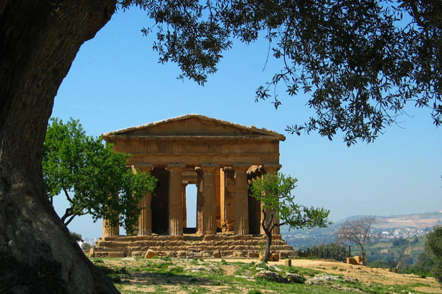 Agrigento, Sicily, Temples Valley
