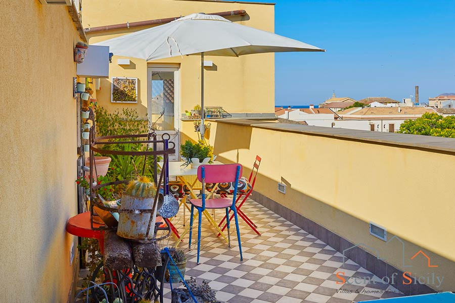 Loft Kalsa Sicily Palermo view